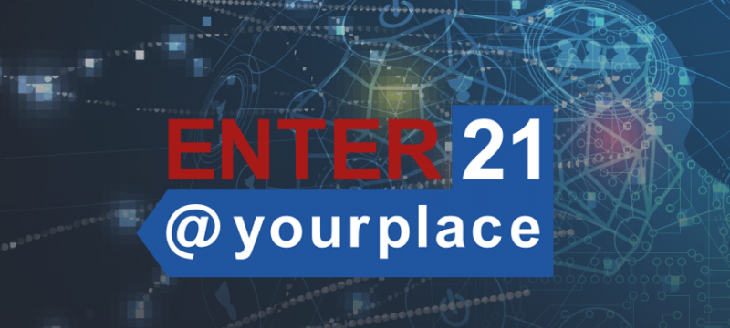 Why presenting your research at ENTER21@yourpalce?